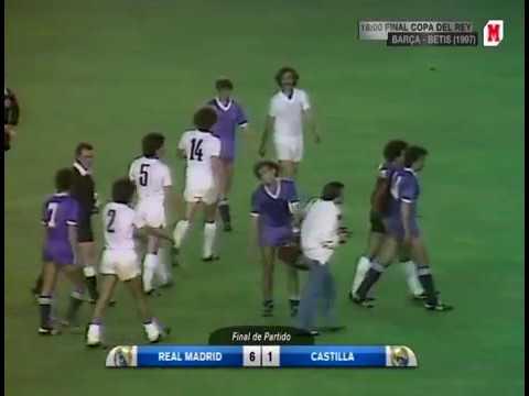 Real M Castilla Copa Del Rey 1979 80 Final 6 1 Youtube