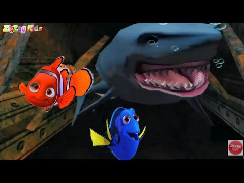 Finding Nemo   Episode 4 Submarine   À Procura de Nemo Disney   ZigZag Kids HD