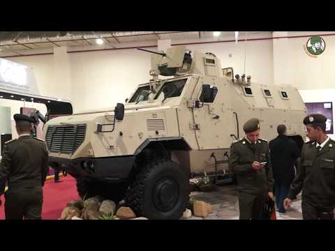 EDEX 2018 Foreign defense and security industries at First Egypt Defense Exhibition in Cairo
