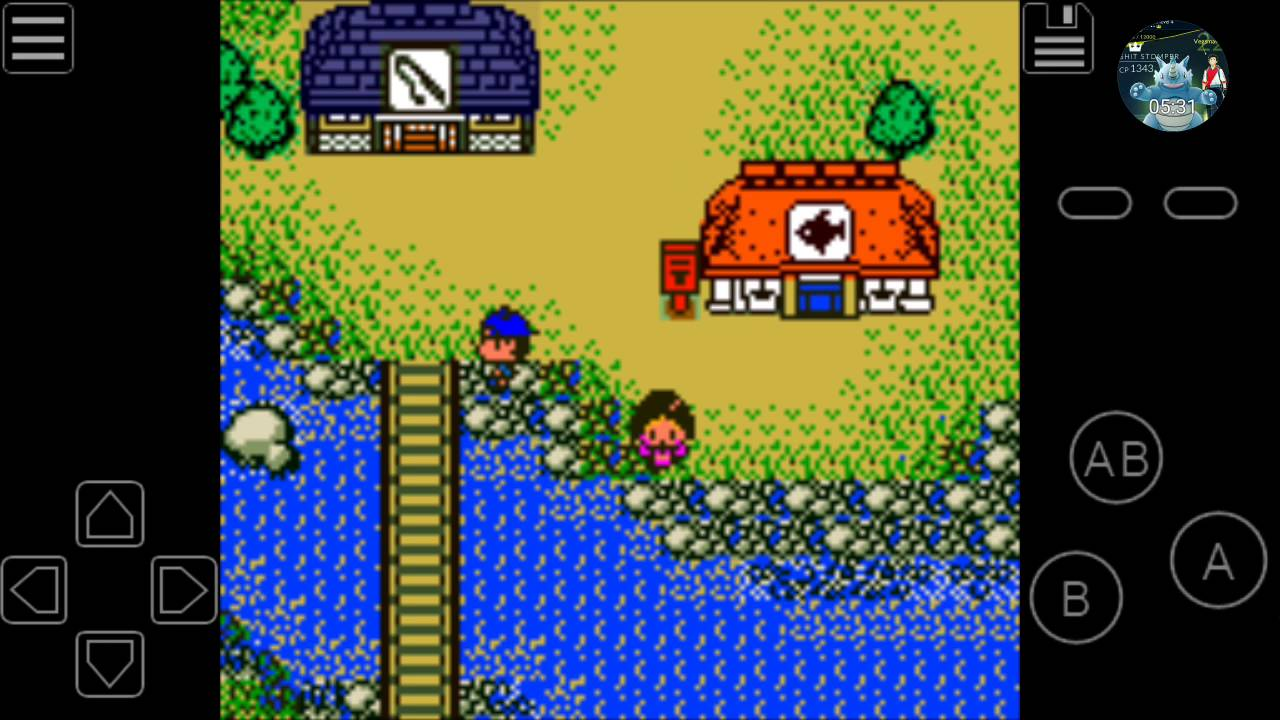 Gameboy color and advance rpg games -  legend of the river king part 1 gameboy color fishing rpg