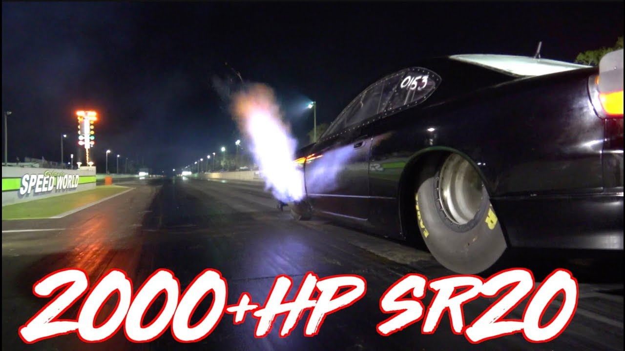 2000hp Sr20 4 Cylinder Quest For The World Record