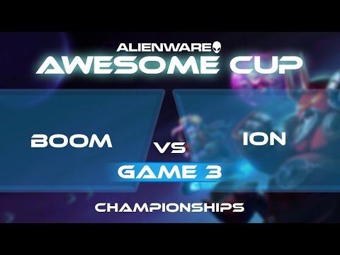 GF - BOOM vs ion - G3 - AAC2: Championships