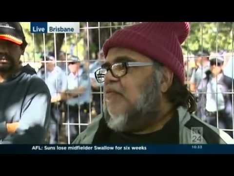 Tent embassy protesters demand to see Premier