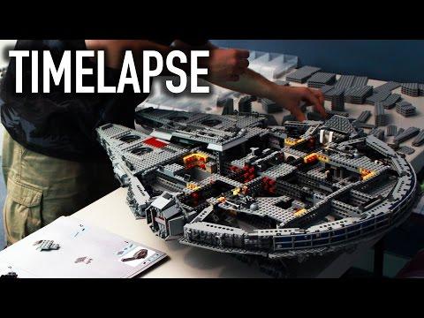 LEGO Star Wars UCS Millennium Falcon 10179 TIMELAPSE BUILD!