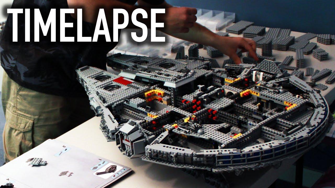 Lego Star Wars Ucs Millennium Falcon 10179 Timelapse Build