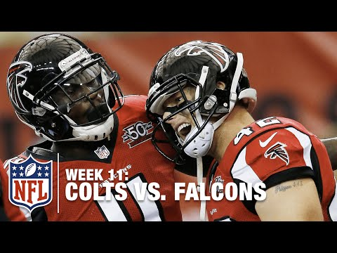 Matt Ryan & Patrick DiMarco Connect for 2 TDs! | Colts vs. Falcons | NFL