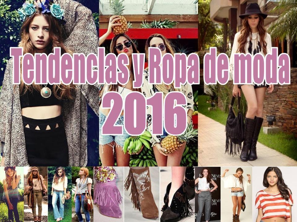 Ropa de moda para invierno 2016,2017/Tendencias de moda 2016/ crops tops flecos hobo , YouTube