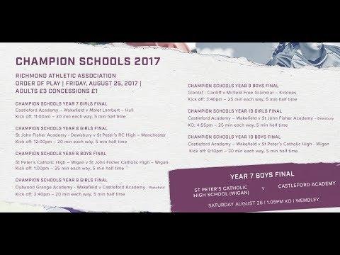CHAMPION SCHOOLS YEAR 9 GIRLS FINAL