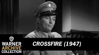 Crossfire (1947)  -  HD Clip Mitchum