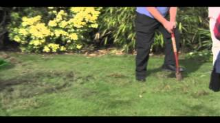Autumn lawn care talk. October 2014, by our expert Alan Goold.
