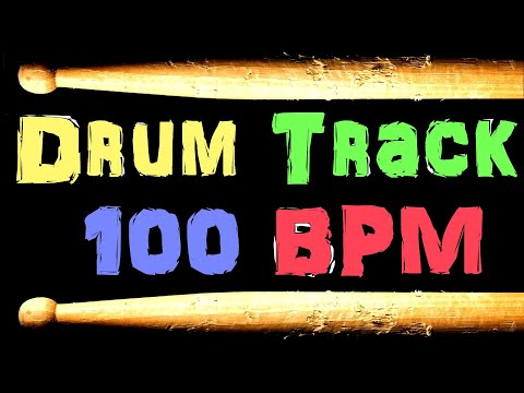 Drum Beat 100 BPM Country Rock Bass Guitar Backing Jam Track Free MP3 Download Loop #39