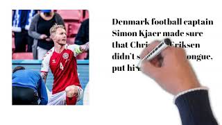 OUTPOURING OF JOY AFTER NEWS ANNOUNCED CHRISTIAN DANISH FOOTBALLER ERIKSEN IS STABLE AND IN HOSPITAL