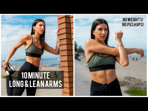 10 minute arm workout  no weights needed no push ups