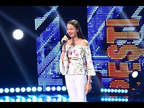 """Say You Won't Let Go"" - James Arthur. Vezi interpretarea Francescăi Nicolescu la X Factor"