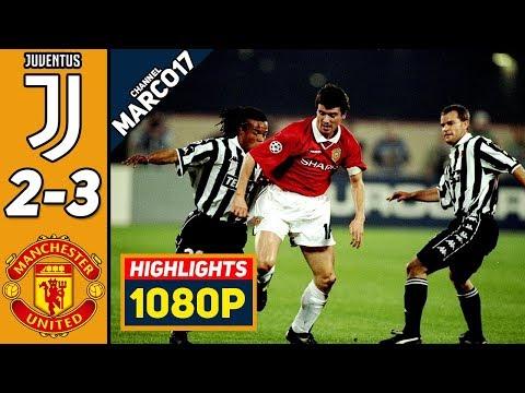 🔥 Ювентус - Манчестер Юнайтед 2-3 - Обзор Матча Полуфинал Лиги Чемпионов 21/04/1999 HD 🔥
