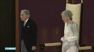 Japanse keizer Akihito treedt af tijdens korte ceremonie
