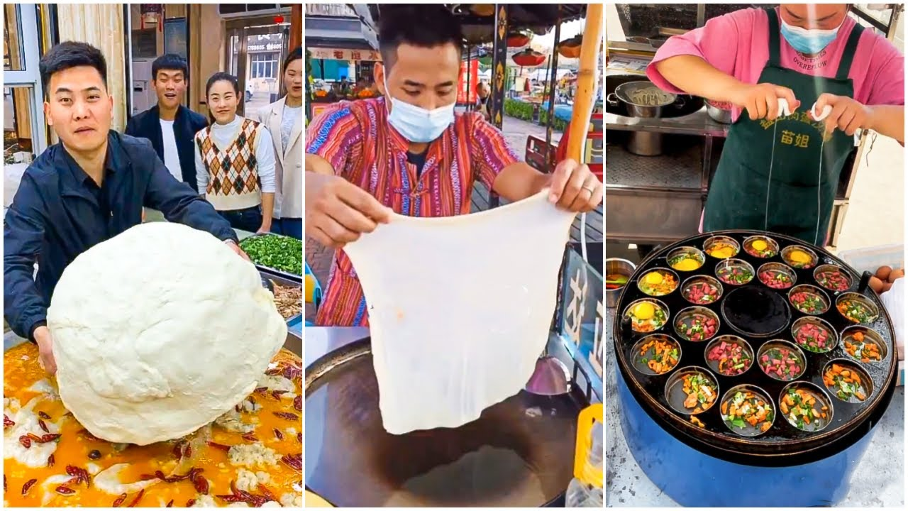 Oddly Satisfying Ninja Cooking Skills P(52) 😍😍 Tik Tok China 😍 Great Asian Ninja Skills