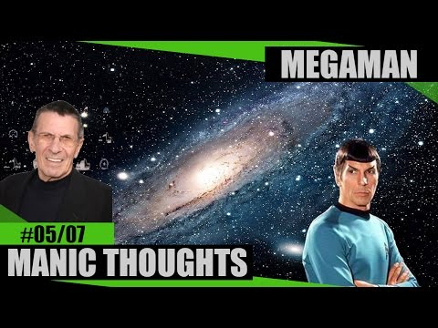5 Star Trek Technologies - In Remembrance of Leonard Nimoy  - Mega Man Part 5