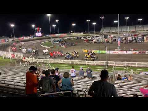 Knoxville Raceway 360's Parade Lap 7-5-19