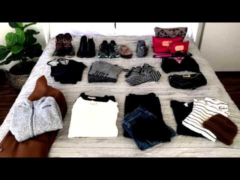 Winter Packing: How to Fit Everything in a Carry On - Unfancy