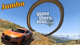 BUILDING RAMPS IN GTA 5 ( Funny Moments )