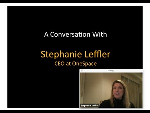 328th 1M/1M Roundtable November 3, 2016: With OneSpace CEO Stephanie Leffler