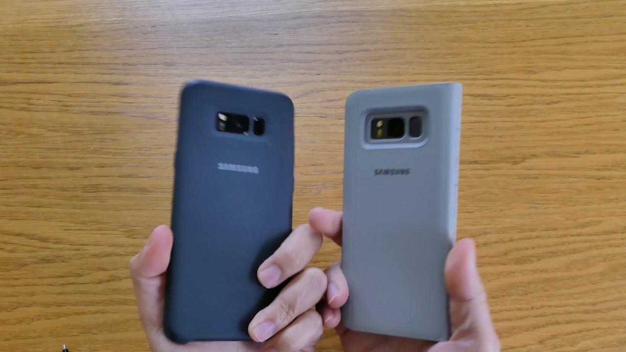 samsung galasy s8 silicone cover