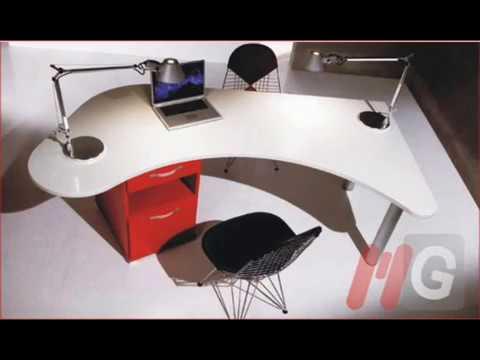 Mg muebles escritorios ejecutivos escritorios semi - Escritorios de oficina ...