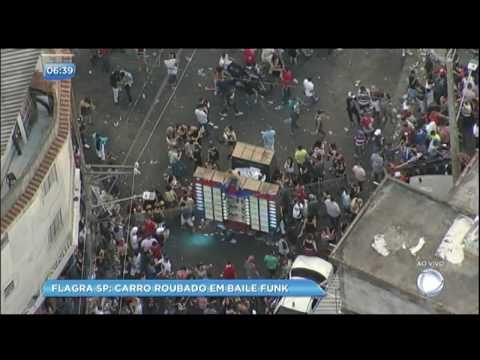Balanço Geral flagra baile funk na comunidade de Heliópolis nesta segunda 25