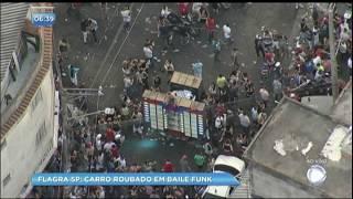 Baixar Balanço Geral flagra baile funk na comunidade de Heliópolis nesta segunda (25)