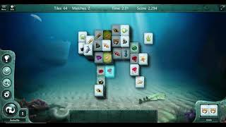 Mahjong Match Puzzle - Easy Step- Cat Layout- Microsoft Casual Game