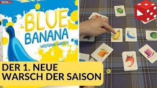 Blue Banana (Wolfgang Warsch, Piatnik 2019) - Witzig, aber nichts für Farbenblinde - offensichtlich