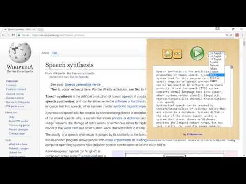 TTSReaderX In-Page Text to Speech