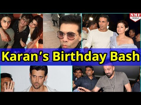 Bollywood Celebs ने Attend किया Karan Johar B'day Bash