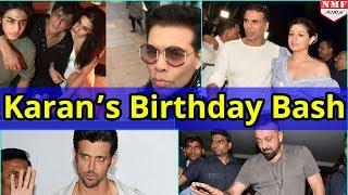 Bollywood Celebs ने Attend किया Karan Johar B