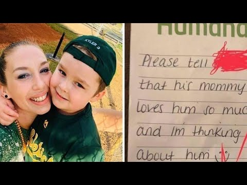 Mom Doesn't Believe Teacher Mocks Son, Then Finds This Note In His Lunchbox