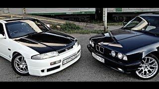 Кто кого?Nissan skyline vs bmw m5 e34(Трейлер)