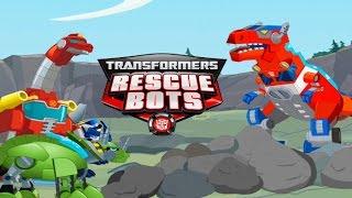 Transformers Dino Island, Dino Bots Save Frankie and Proffessor Baranova GAME REVIEW