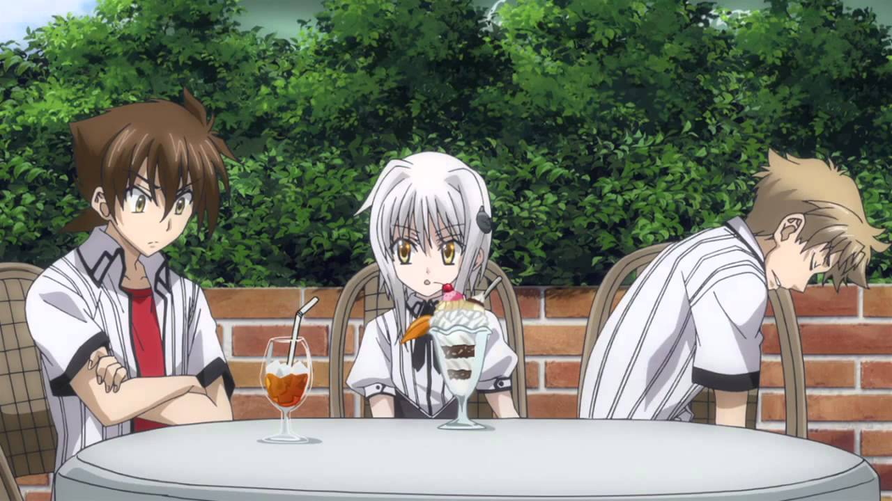 High school dxd episode 2