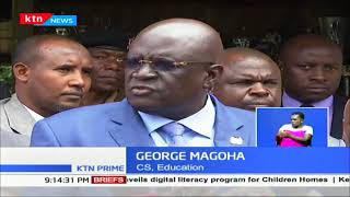 Magoha calls for all the stakeholders to combine efforts toward the 100% transition to Sec. Schools