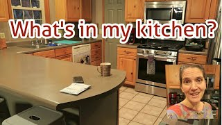 What's in my KITCHEN? by a Large family MOM