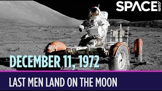 OTD in Space - Dec. 11: Apollo 17 Astronauts Land on the Moon