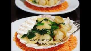 Homemade Pasta Sweet Potato Agnolotti Recipe