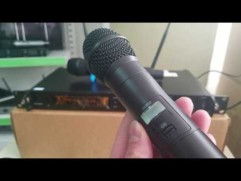 Good quality True Diversity Wireless Microphone RDW-T300 with IR function Introduction