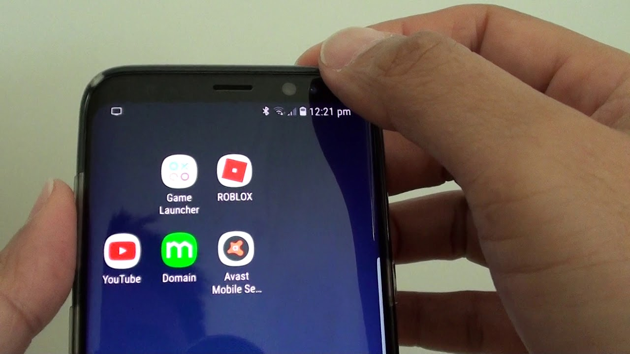Samsung Galaxy S8 How To Import Contacts To A Secure Folder Youtube