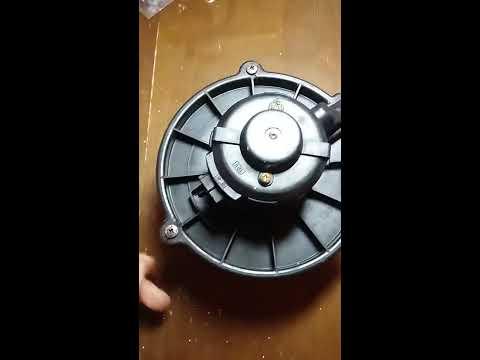 Как достать моторчик печки KIA Spektra