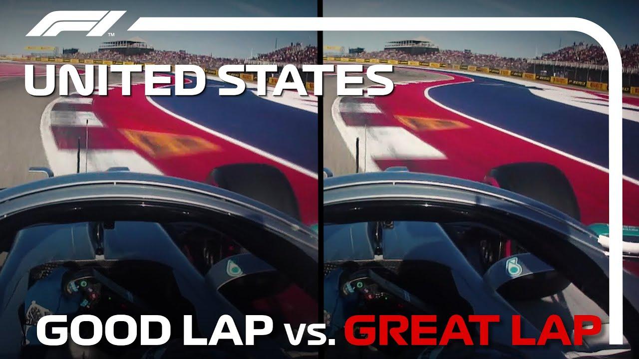 Good Lap vs Great Lap With Valtteri Bottas | United States Grand Prix
