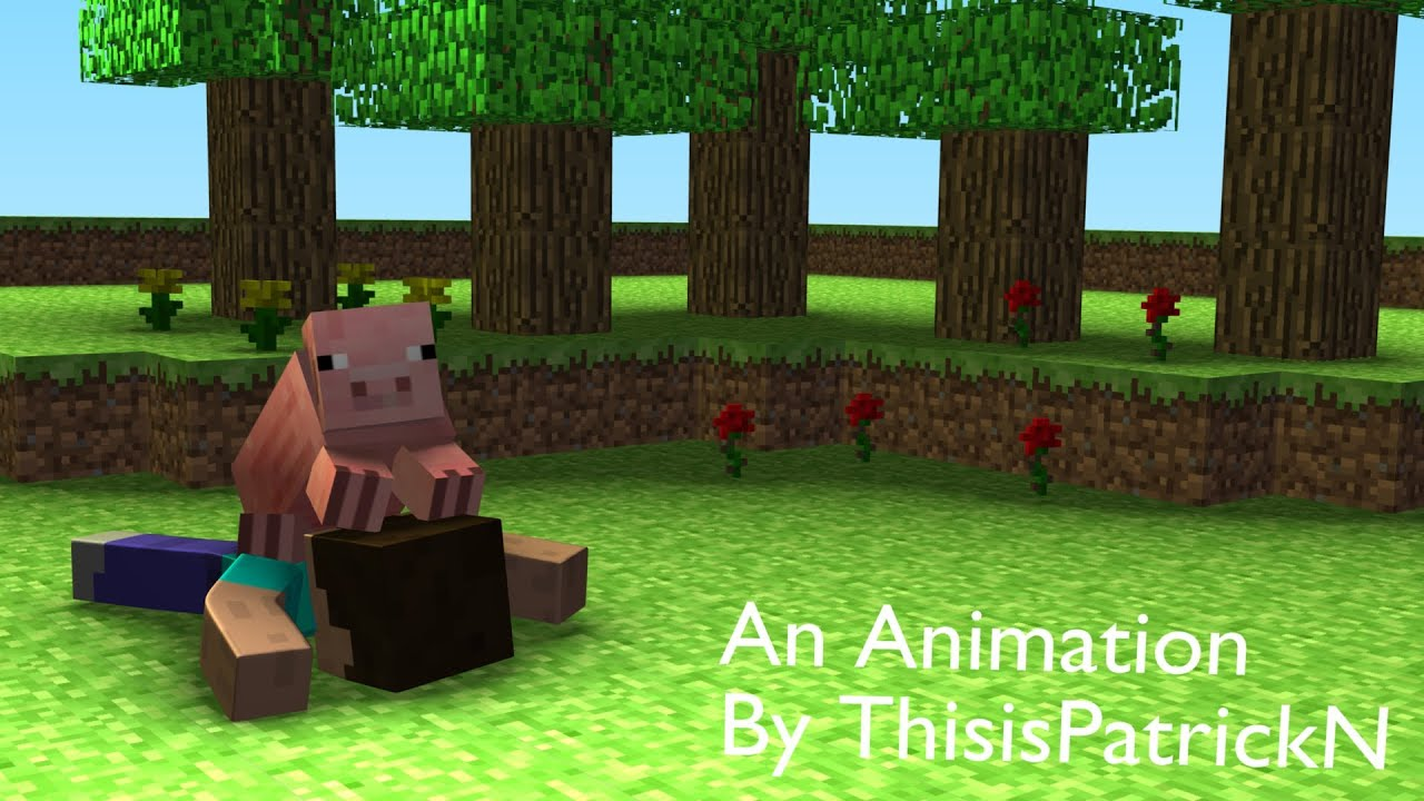 When Pigs Fly - Minecraft Animation - YouTube