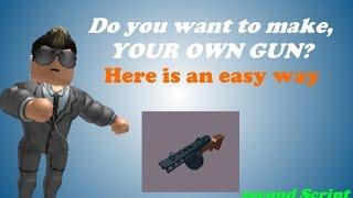 Wie man die beste Waffe auf roblox 2014