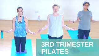 3rd Trimester Pilates 20 Minute Workout | Powerful Pregnancy | Jane Wake